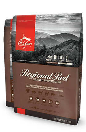 ORIJEN Regional Red Biologically Appropriate Cat Food Bag