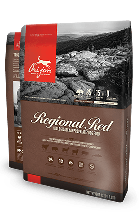 ORIJEN Regional Red Biologically Appropriate Dog Food Bag