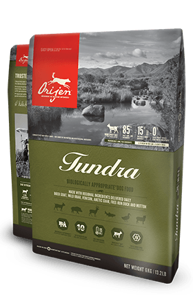 ORIJEN Tundra Biologically Appropriate Dog Food Bag